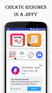 Resume Builder Free app with PDF Download 4.1 APK + Mod (Unlocked) 2