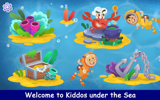 Kiddos under the Sea : Fun Early Learning Games 1.0.3 screenshots 1
