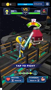 Supreme Saberman: Stickman Fight Space Invaders 1