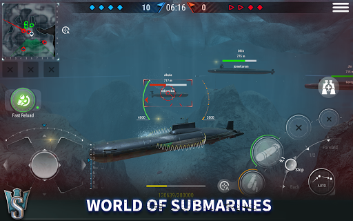 WORLD of SUBMARINES: Navy Warships Battle Wargame Apkfinish screenshots 11
