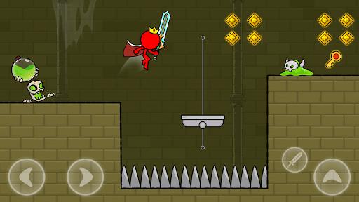 Red Stickman : Animation vs Stickman Fighting android2mod screenshots 7