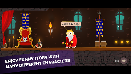 Doge and the Lost Kitten - 2D Platform Game screenshots 2