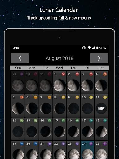Phases of the Moon Calendar & Wallpaper Pro  screenshots 13