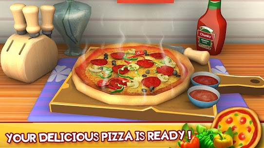 Kitchen Chef Pizza Maker For Pc Or Laptop Windows(7,8,10) & Mac Free Download 1