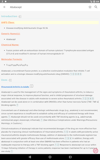AHFS Drug Information (2021) 3.5.14 Screenshots 9