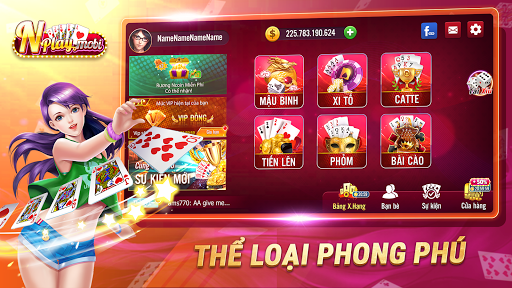 NPLAY: Game Bu00e0i Online, Tiu1ebfn Lu00ean MN, Binh, Poker.. 3.2.0 screenshots 7