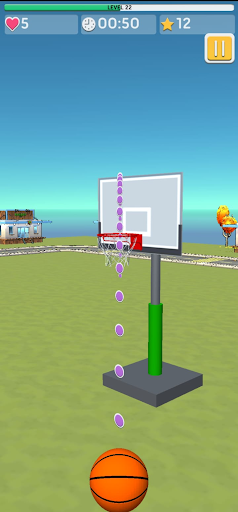 Basketball 3D Shooting 1.1.8 screenshots 7