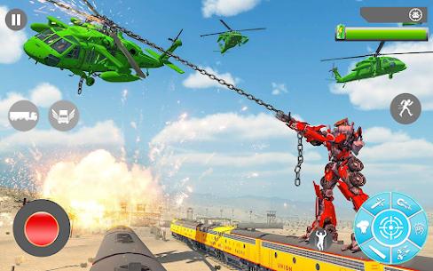 Süper Tren robot dönüşümü: Büyük robot oyunu 2