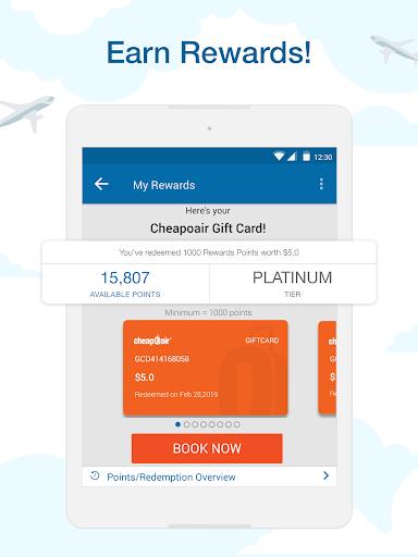 CheapOair: Cheap Flights, Cheap Hotels Booking App 3.20.18 Screenshots 13