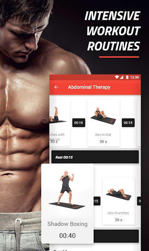 Six Pack in 30 Days - Abs Home Workouts FREE 4.3.88 screenshots 1