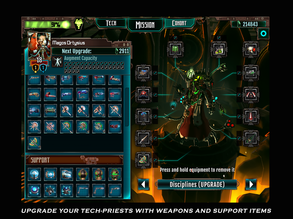 Warhammer 40,000: Mechanicus poster 4