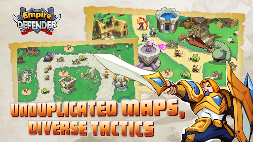 Empire Defender TD: Tower Defense The Fantasy War screenshots 2
