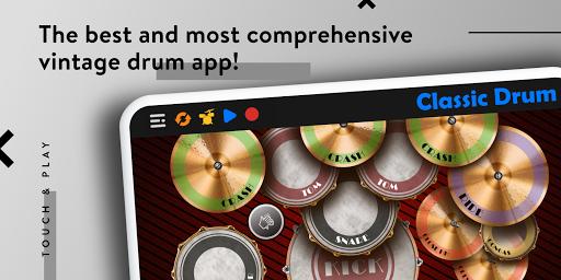 CLASSIC DRUM: Electronic drum set 7.5.6 Screenshots 1