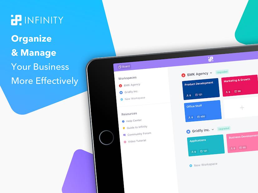 Captura de Pantalla 15 de Infinity — Organize anything, your way. para android