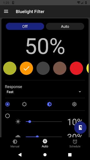 Bluelight Filter for Eye Care - Auto screen filter 3.7.1 Screenshots 6