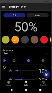 Bluelight Filter for Eye Care - Auto screen filter Screenshot