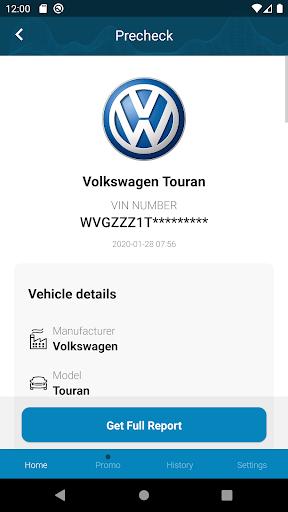 Volkswagen History Check: VIN Decoder android2mod screenshots 2