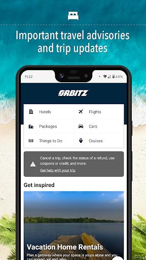 Orbitz - Hotels, Flights & Package deals 20.44.0 screenshots 1
