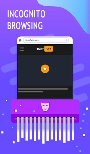 Flight Browser Plus : Fast & Secure Browser  screenshots 1