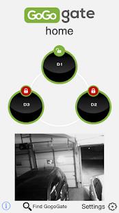 Gogogate - Open garage door -