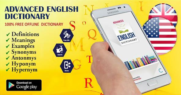 Offline Advanced English Dictionary and Translator