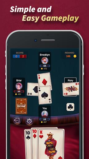 Euchre - Free Offline Card Games 1.1.9.6 screenshots 2
