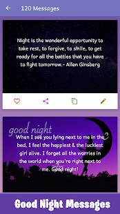 Sweet Good Night Messages & Good Night Quotes