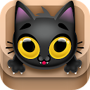 Kitty Jump! - Tap the cat! Hop it into the box!