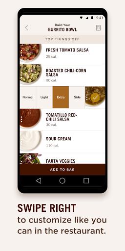 Chipotle 8.7.5 Screenshots 5