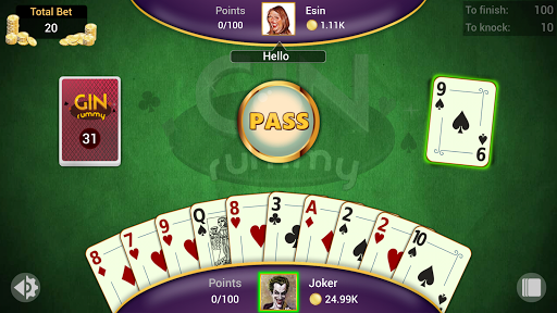 Gin Rummy - Offline Free Card Games apkpoly screenshots 5