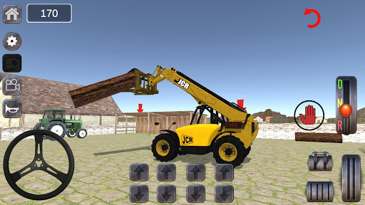 Dozer Crane Simulation Game 2 apkdebit screenshots 1