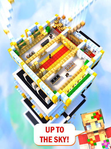Tower Craft 3D - Idle Block Building Game  screenshots 7