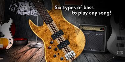 REAL BASS: Electric bass guitar free