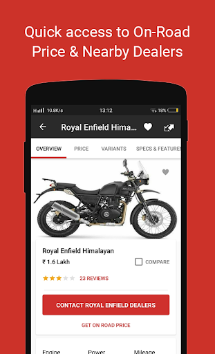 ud83cudfcd BikeDekho - New Bikes, Scooters Prices, Offers screenshots 2