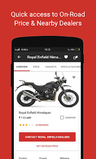 ud83cudfcd BikeDekho - New Bikes, Scooters Prices, Offers 4.6.4 Screenshots 2
