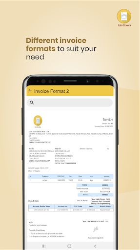 Easy Invoice Manager App by GimBooks 1.0.362 Screenshots 4