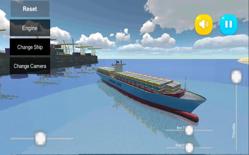 Atlantic Virtual Line Ships Sim  screenshots 1
