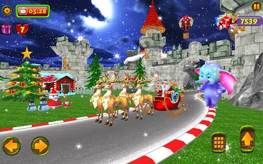 Santa Christmas Infinite Track screenshots 18