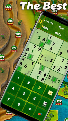 Best Sudoku (Free) android2mod screenshots 1