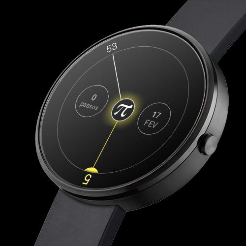 Material Pi Watch Face - π  screenshots 6