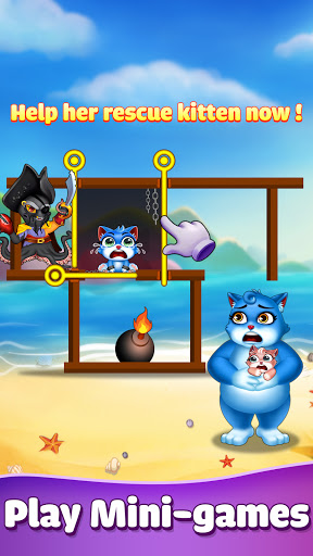 Cat Pop Island: Bubble Shooter Adventure 8.2 screenshots 1