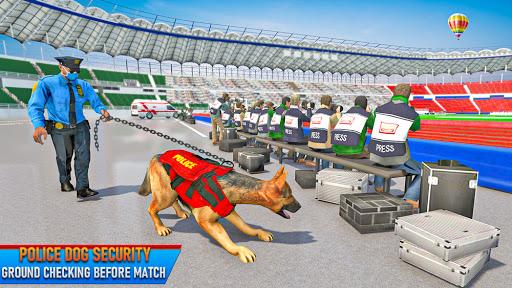 Police Dog Football Stadium Crime Chase Game  screenshots 2
