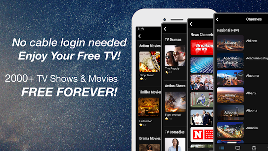 FREECABLE TV App: Free TV Shows, Free Movies, News 8.68 Mod + Data Download 1