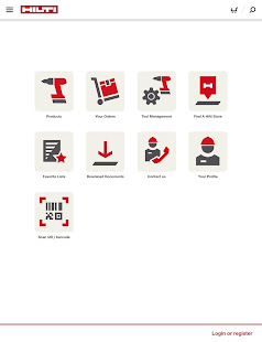 Hilti Mobile App