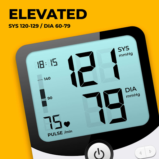 Blood Pressure Monitor - Blood Pressure App apktram screenshots 2