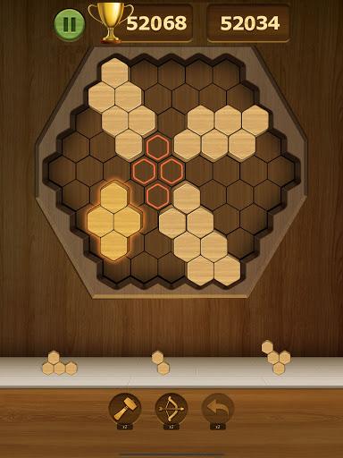 Wood Block Puzzle 2021 - Wooden 3D Cube Puzzle Gem goodtube screenshots 22