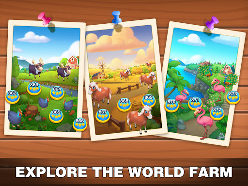 Solitaire Farm: Classic Tripeaks Card Games  screenshots 19