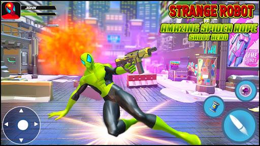 Strange Robot Vs Amazing Spider Vice City Hero  screenshots 1
