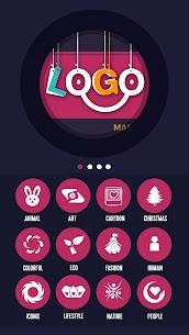 Logo Generator & Logo Maker v2.7.0 [Unlocked] by LIGHT CREATIVE LAB 1