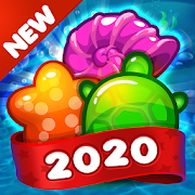 Jelly Fish Crush Mania: 2020 Match 3 Game Free New